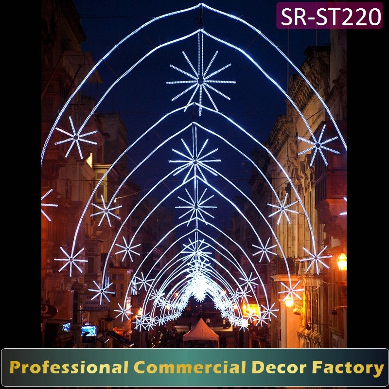 Customize commercial Diwali cross street arch decoration