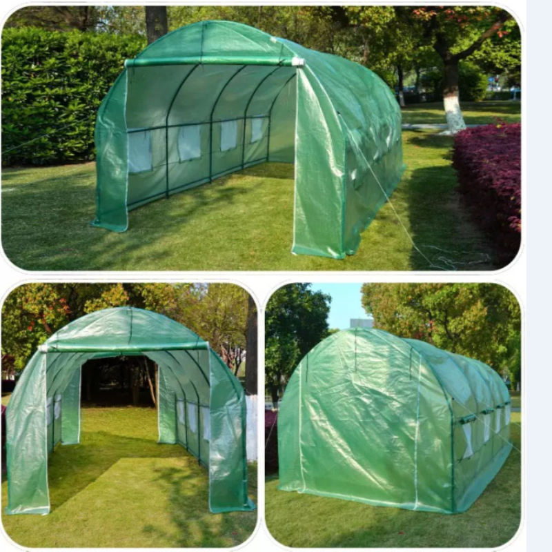 Poly Tunnel Garden Walk in Greenhouse used commercial greenhouses plastic greenhouses for sale