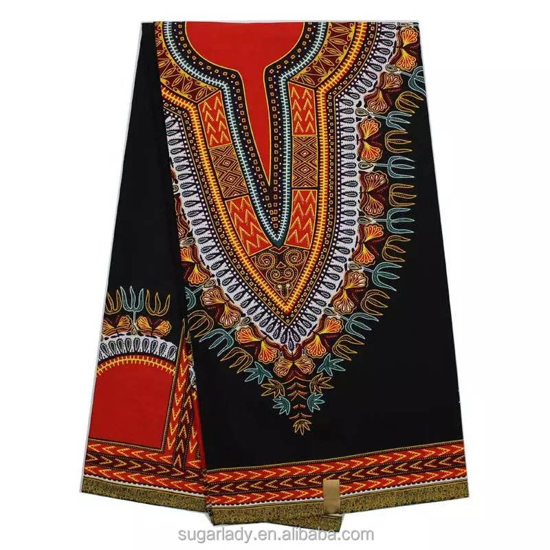 2017 hot fashion wholesale wax print fabric african for women dress