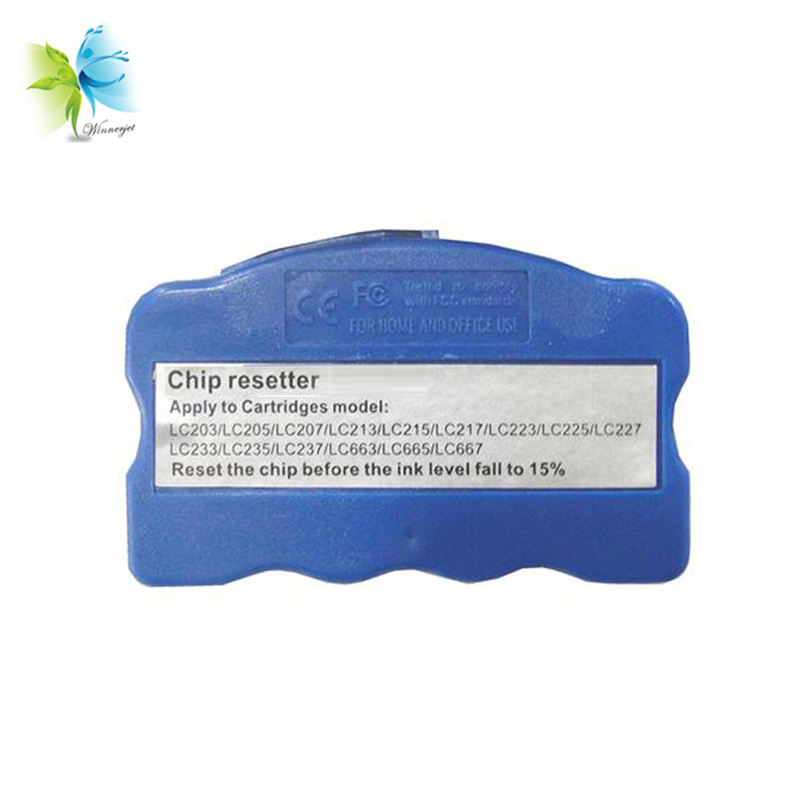 Chip de cartucho universal winnerjet resetter para impressoras de desktop brother mfc