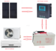 100% solar air conditioner split system 48V DC inverter/24 hours 18000btu 100% solar air conditioner/ wall split air condition