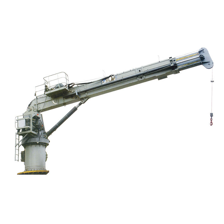 electric deck crane high quality yacht marine crane
