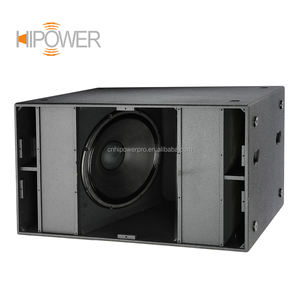 China Wholesale Pro Audio Sound Equipment Dual 18 inch Subwoofer Speaker, RCF Speaker Box, Professional Audio Manufacture
