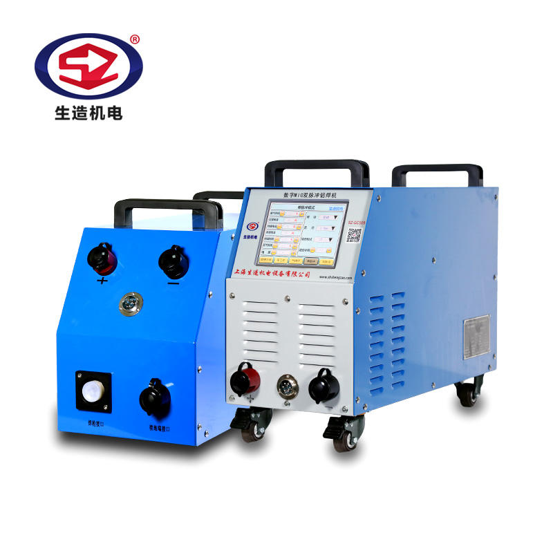 SZ-GCS09 Digital Double Pulse MIG Aluminum Welding Machine With Wire Feeder Inverter CO2 Gas MIG Welder