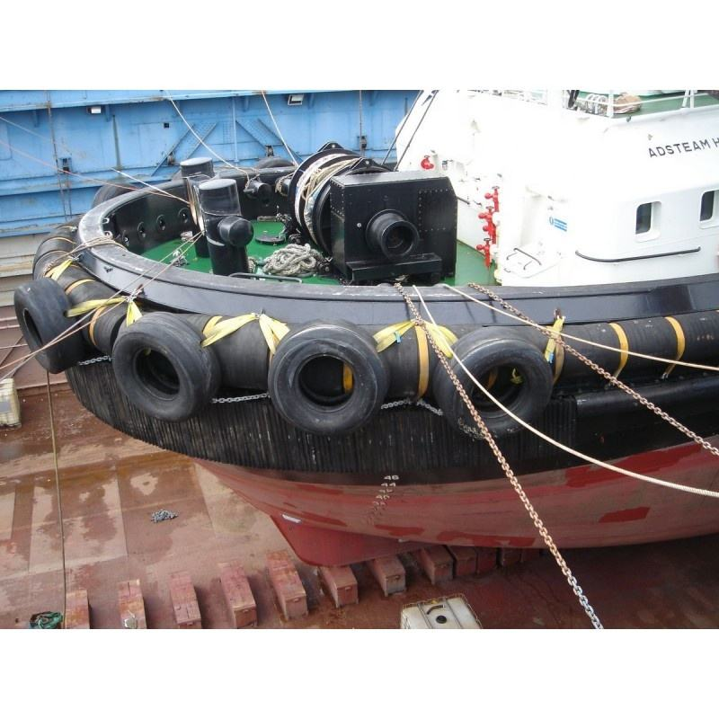 Many different sizes in stock used aircraft tyre for ship fender