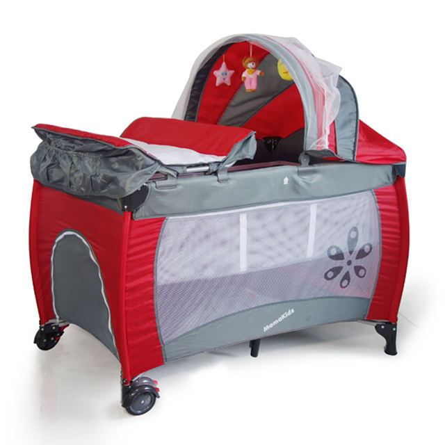 Mamakids S12-7 Baby assembly camping playpen/ wholesale baby travel cot