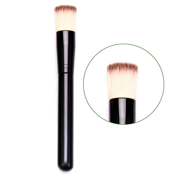 도매 합성 Single 가부키 Angle Flat Top 액 Oval Foundation 버핑 Brush 메이 컵 Set Private Label Foundation Brush