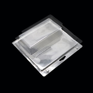 Custom Transparent Packing Clear Clamshell Plastic Blister Packaging For Product Display
