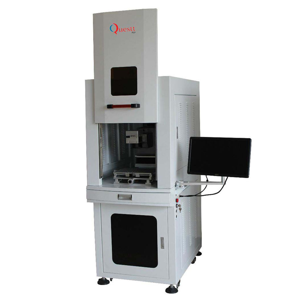 High precision pvc id card laser printer 3W 5W 15W UV laser marking machine