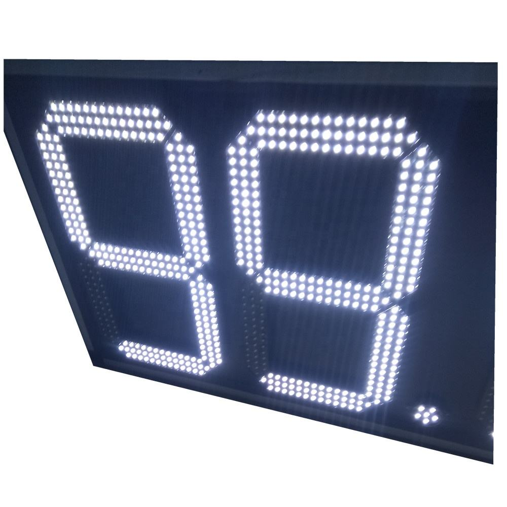 "16"" 2 digit counter second hour day led clock"