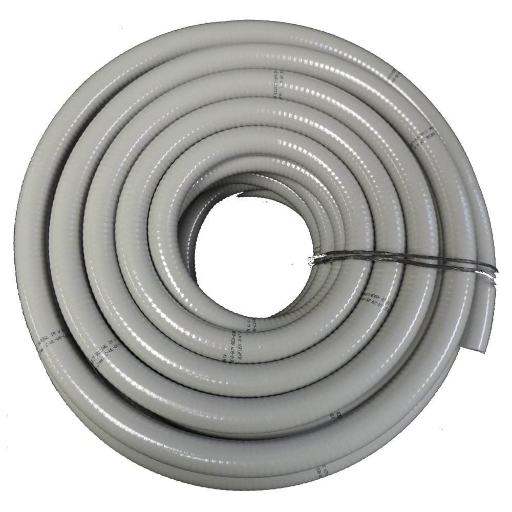 NON METALLIC FLEXIBLE PVC LIQUID TIGHT ELECTRICAL CONDUIT UL LISTED E499143