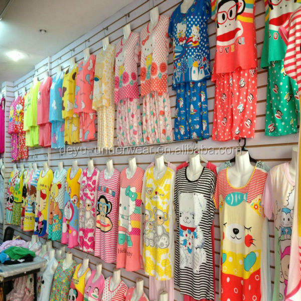 1.42USD Assorted Designs High Quality Yough Ladies Lovely Sleepwear/Underwear/Couple Pajamas(kcmsy001)