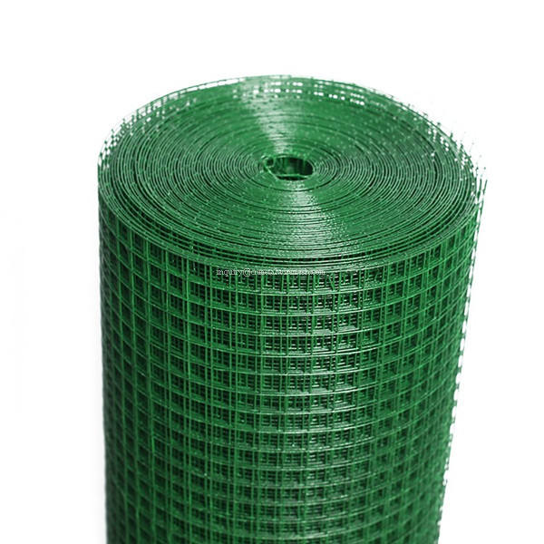 China Professional Supplier Anping Factory Direct Supply Galvanized & PVC Coated 3/8inch Welded Wire Mesh in roll
