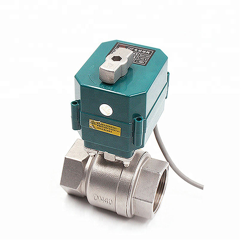 "motorized actuator 1/2"" 3/4"" 1"" 11/4"" 11/2"" 2"" BSP NPT electric ball valve 5v 9-24V 220V 2 inch motorized valve"