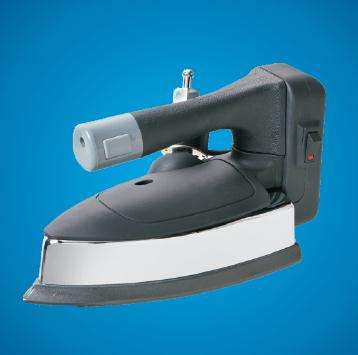 factory wholesale price industrial steam Iron with bottle