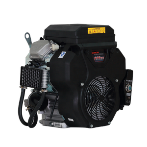 Air Cooled 20HP V-Twin Horizontal Shaft OHV Gasoline Engine For Long Tail Boat