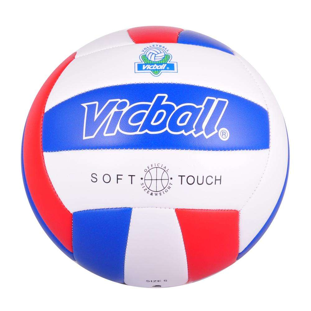 Beach volleyballs foamed PVC Machine stitched Size 5 colorful soft pu volleyball ball