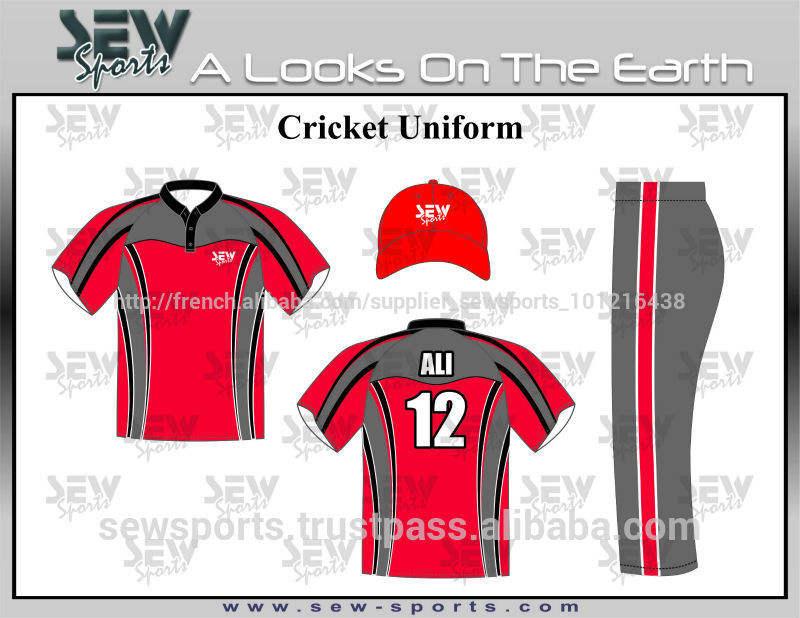 coudre sublimé uniforme de <span class=keywords><strong>cricket</strong></span>