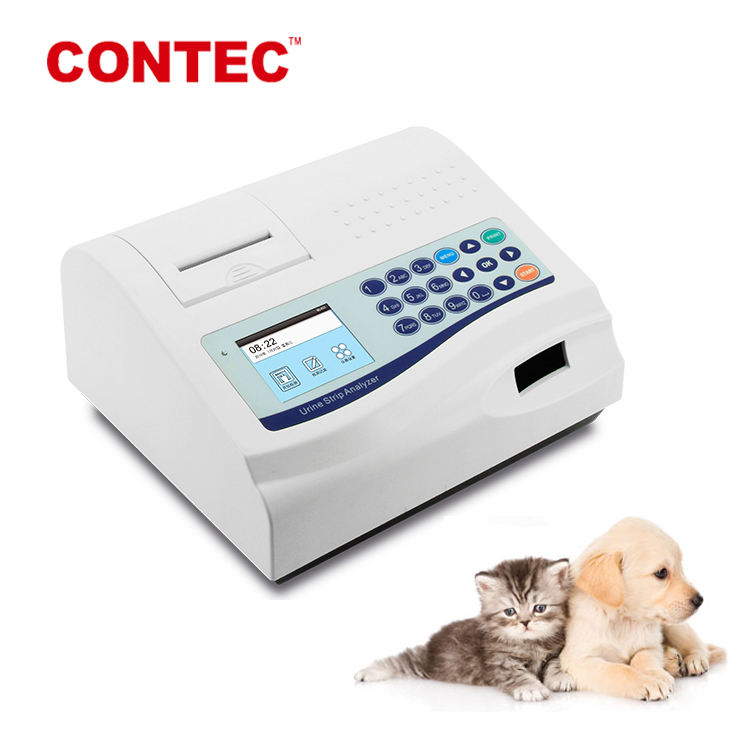 CONTEC Clinic Portable vet veterinary animal use automatic automated urine strip analyzer