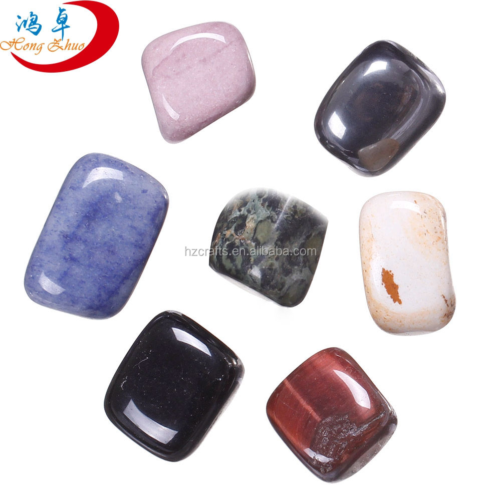 New arrival 7pcs Chakra Tumbled Stone Set for Decoration