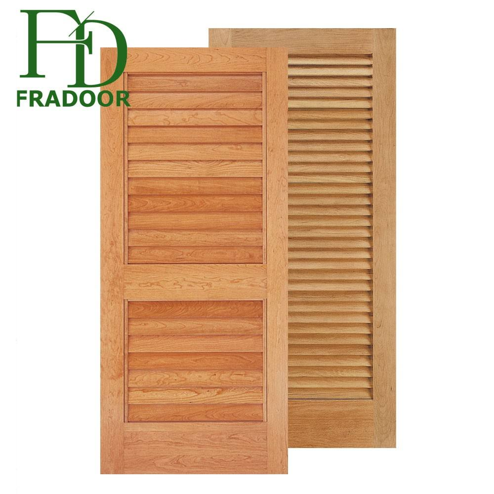 European House Nature Solid Wood Louvers Panels