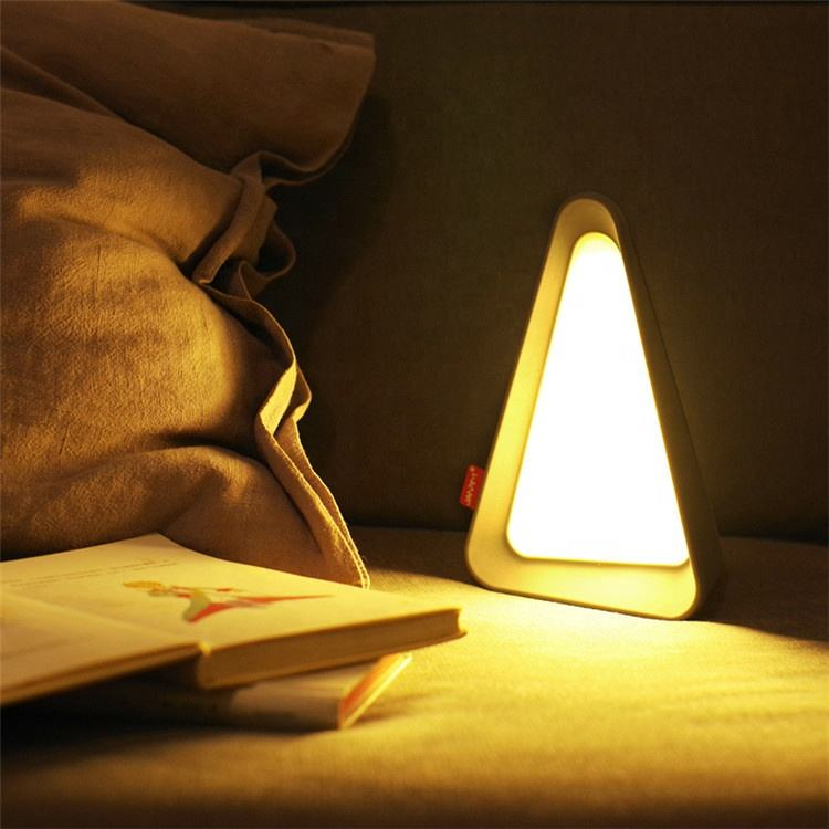 Flip Sensor Light Innovative Intelligent Three Level Brightness USB Rechargeable LED Bedside Lamp/Night Light/Reading Lamp