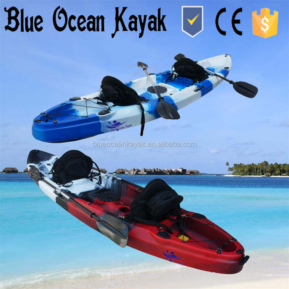 Blue Ocean kayak /2+1 Tandem Fishing Kayak