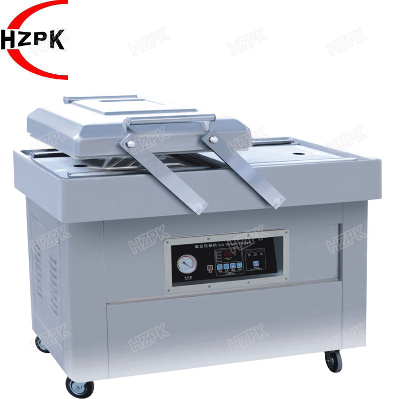 Ex-Factory Price Customized Double Chamber Vacuum Sealing Packing Machine For Seafood, Fruit, Medical, Rice