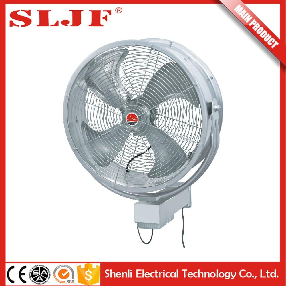 Bldc motor high velocity stoom cooling wandmontage fan