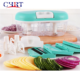 Chrt Mini Stainless Steel Kitchen Pull Slap Chop Swift Quickpush Multi Function Baby Manual Vegetable Slicer Food Chopper