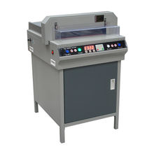 Sigo office 450vs+ digital paper  cutting machine paper guillotine for cutting sheet A3/A4 with LCD