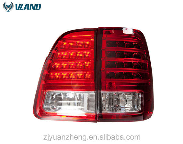 VLAND factory manufactureABS 55W 12V car accessory Tail Light 2000 -2007 For Land Cruiser Tail La