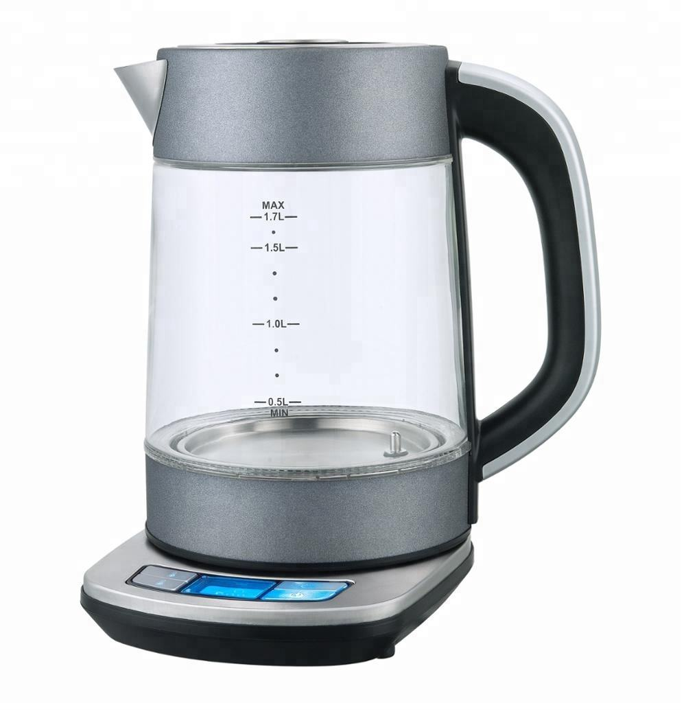 1.7L Base with LCD Display Electric Water Kettle home kitchen appliances electric tea maker water boiler