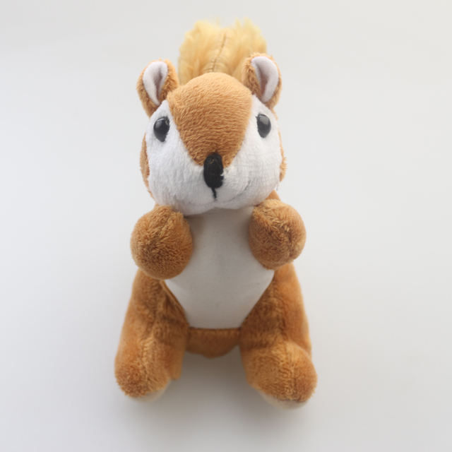 Stuffed animal squirrel plush toy for kids