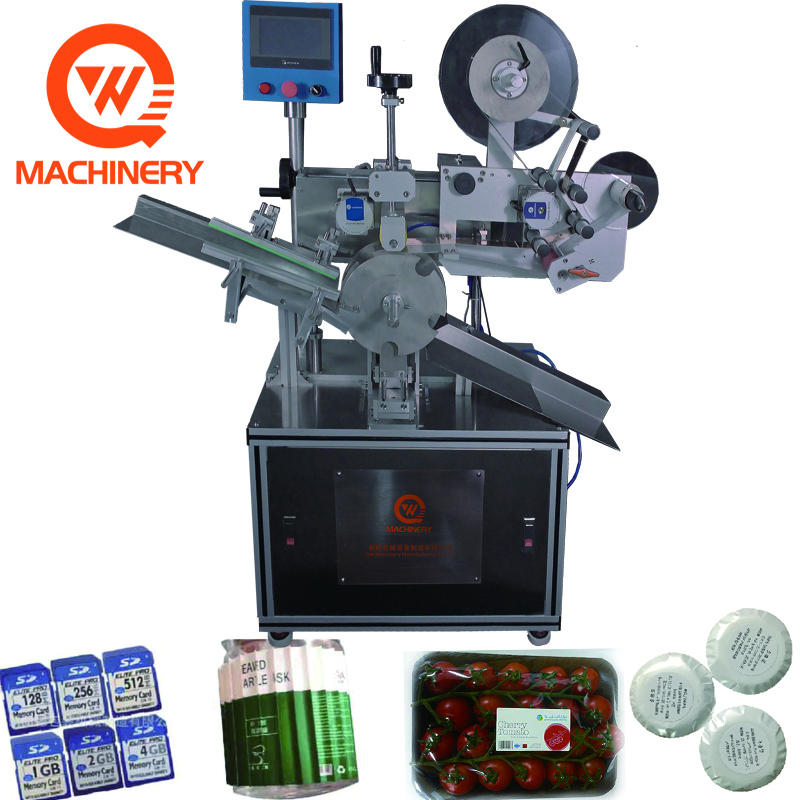 Automatic label machine for box