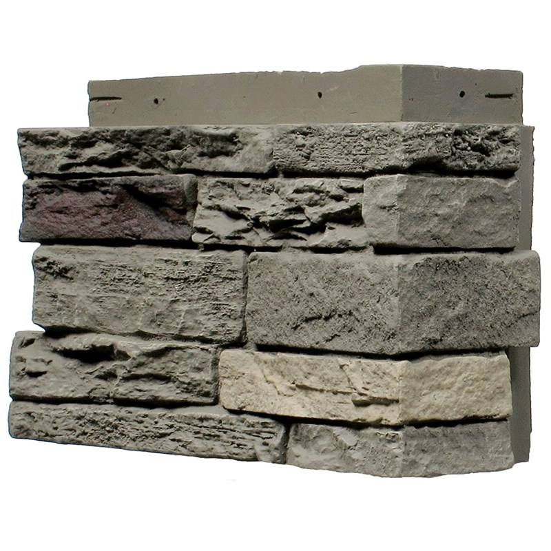 Polyurethane Beauty Cheap Decorative Easy Installation Wall Panel PU faux stone CORNER