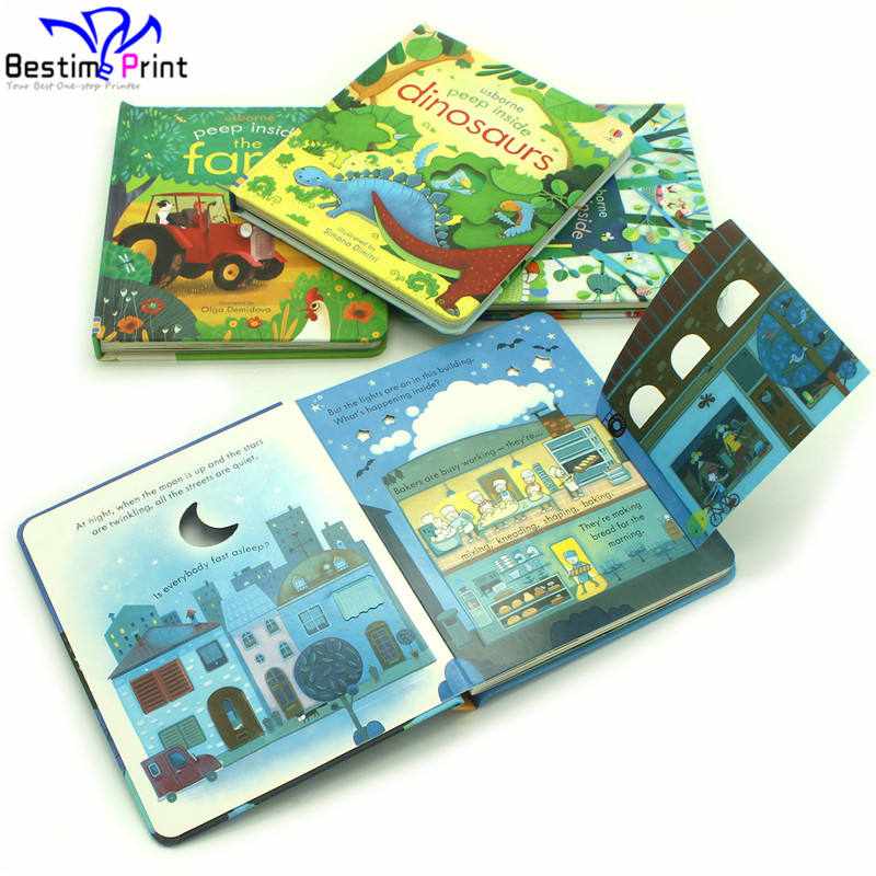 Shenzhen China Custom Board Book Printing Cheap Book Printing Services