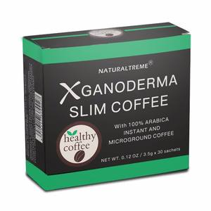 green coffee bean ganoderma slimming black coffee for OEM