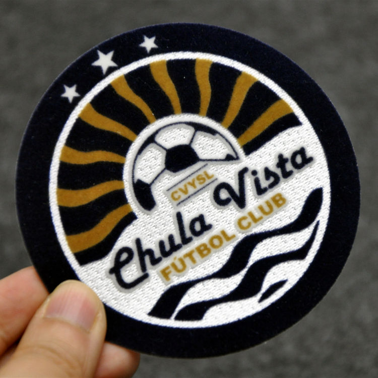 Custom Soccer Team Mixed Polo Cloth Patches