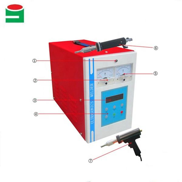 Ultrasonic Spot Welding Machine for shoes vamp welding