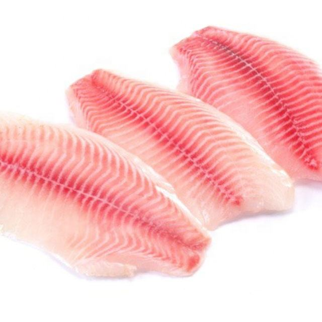 Tilapia filets 2-3 oz IQF 100% NW 10lbs box pack