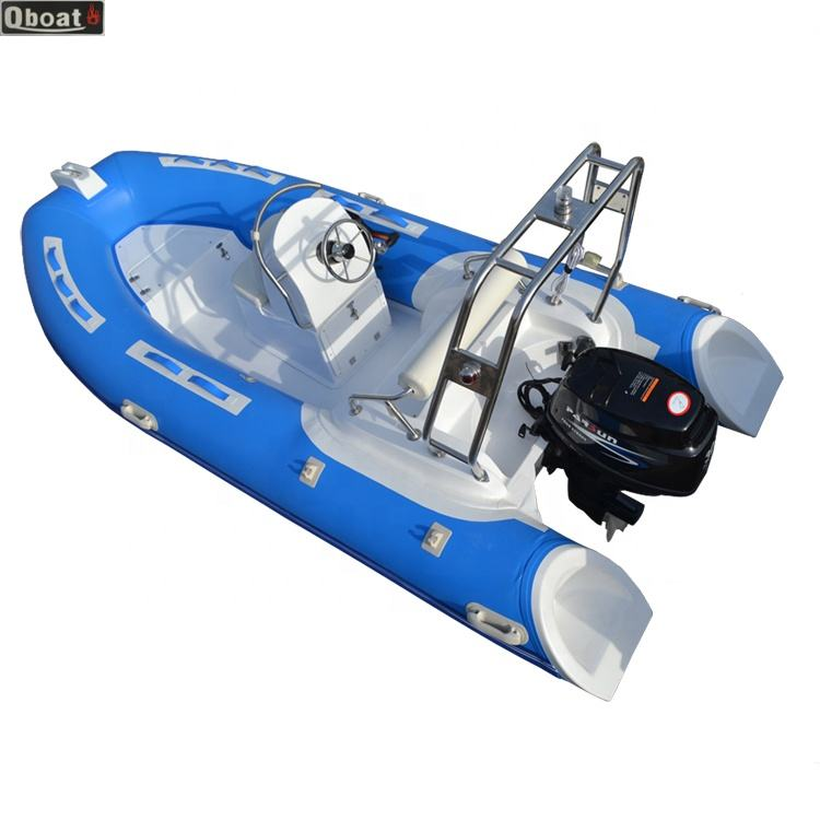 SHUNYU Hypalon or pvc 3.9m 30hp outboard motor Rib Boat Fishing Boat Inflatable Mini Yacht