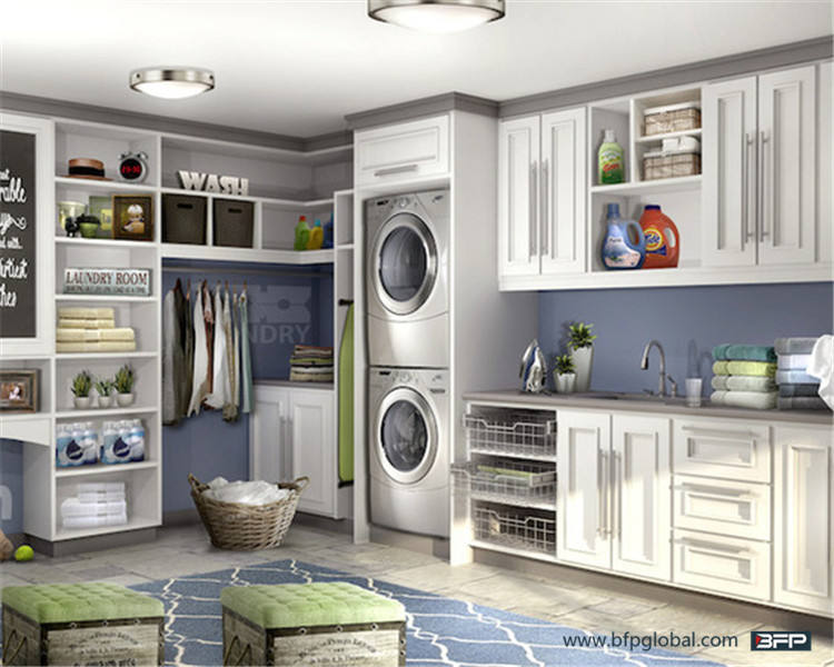 China Manufacturer Customized Functional Cabinet For Laundry Room and Bathroom Furniture