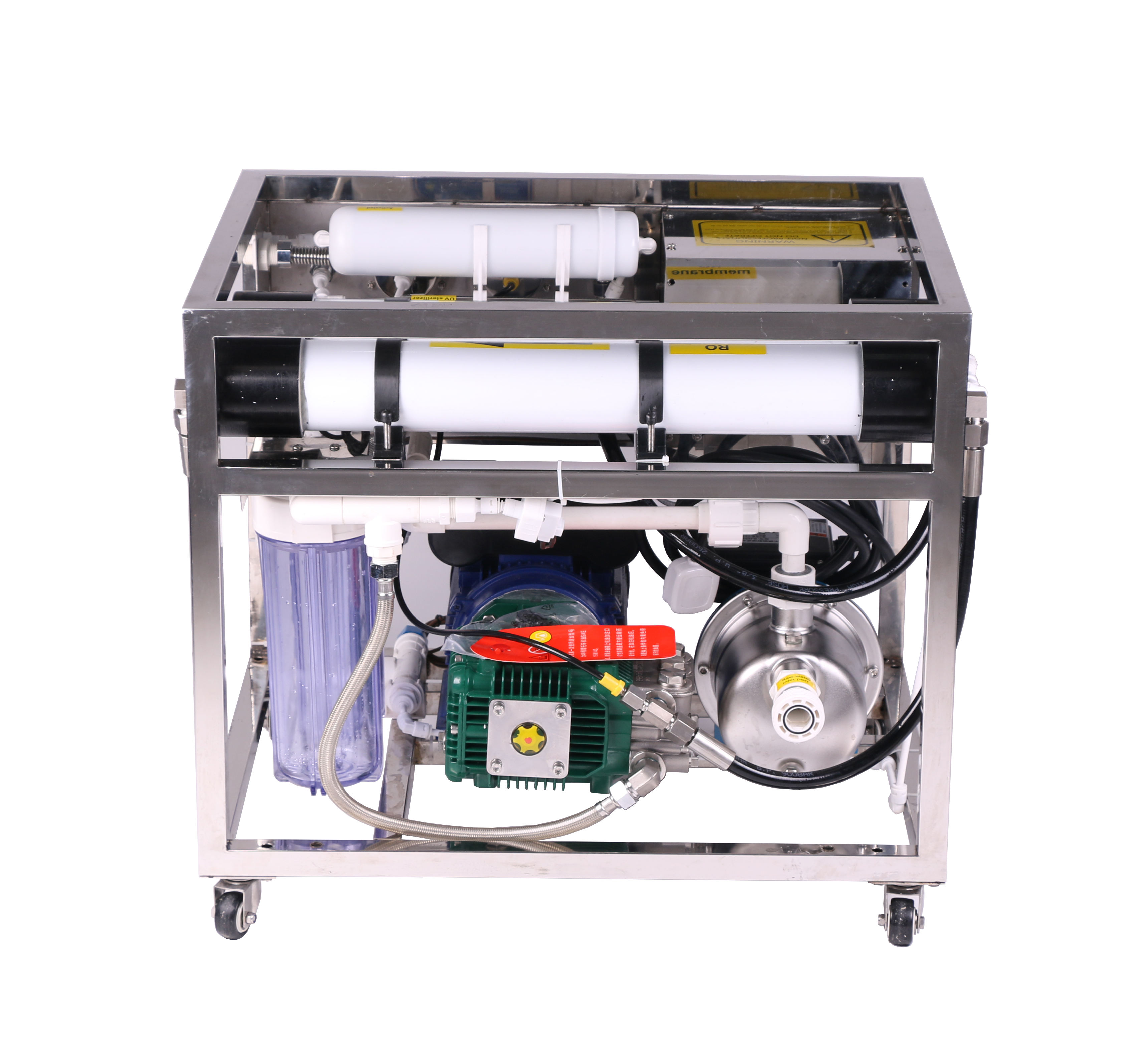 RO-1000LPH High desalination rate ozone generator water purifier machine desalination equipment