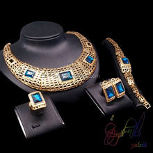 African costume jewelry set Gold plated jewelry sets Parure bijoux dubai