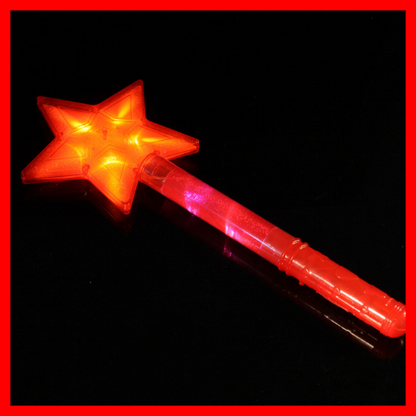 colorful star light stick, fishing light stick for event and party