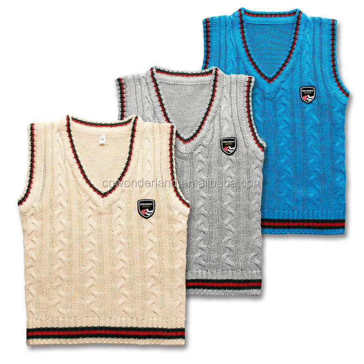 sweaters kids children pullover sweater school uniform sweater vest