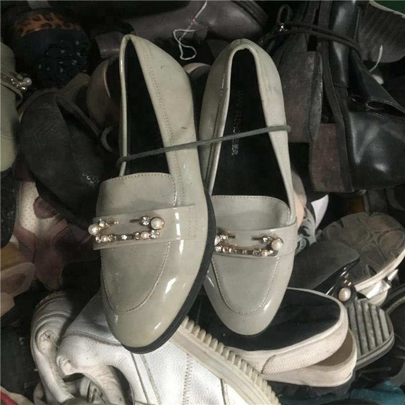 Bulk Fairly Summer lady used shoes mixed gender second hand used shoes in sack 25kg