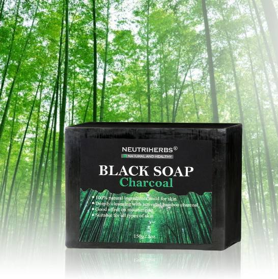 Best Natural Acne Face Soap With Activated Bamboo Charcoal and Coconut Oil For Deeply Cleansing