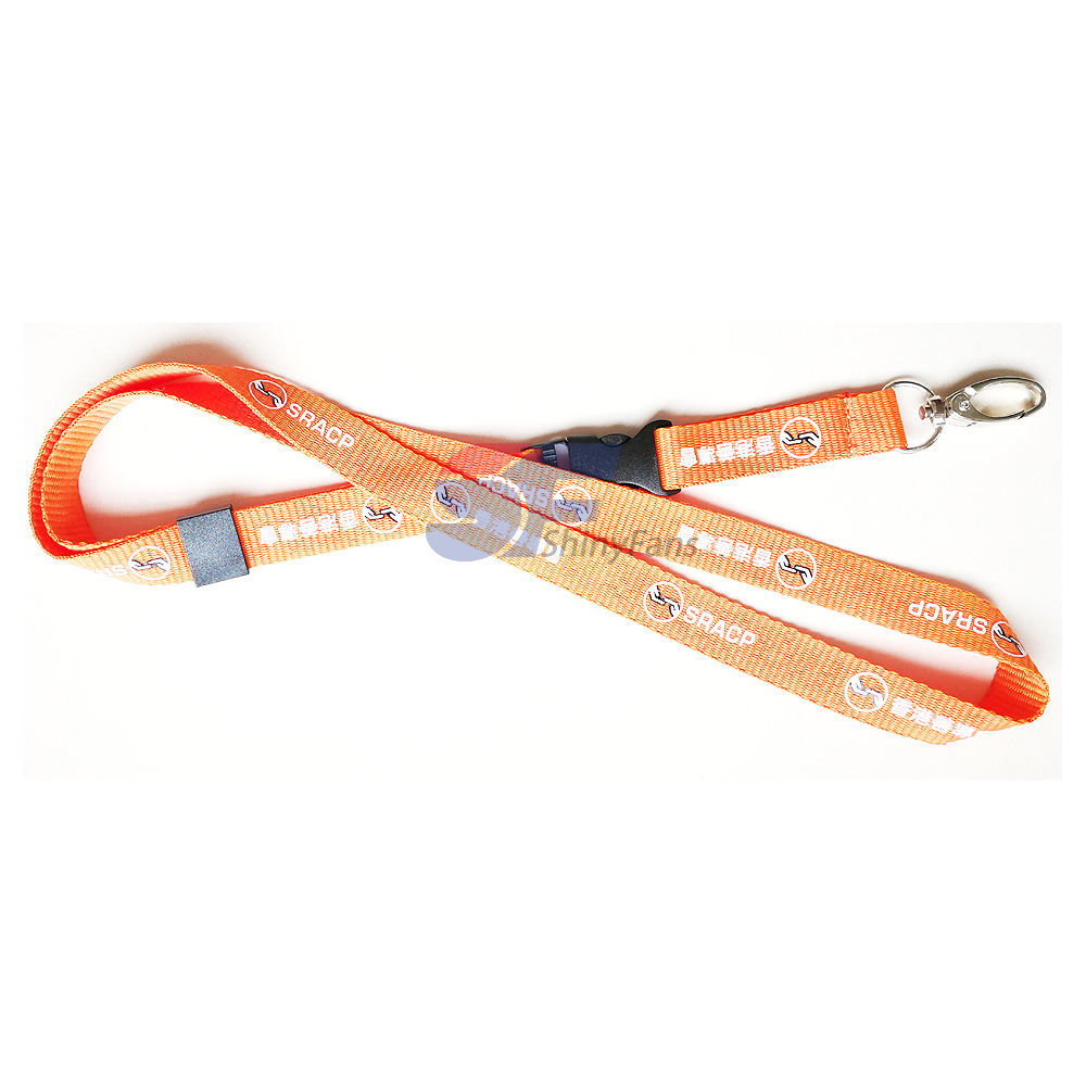 Hot Sale Sublimation polyester printed custom lanyard, DIY Cartoon printed custom lanyard for the ID card holder